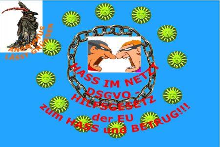 Hass im Netz DSGVO macht es möglich