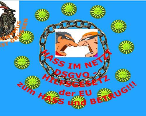 Hass, Hetze und Betrug im Netz - das DSGVO macht es möglich