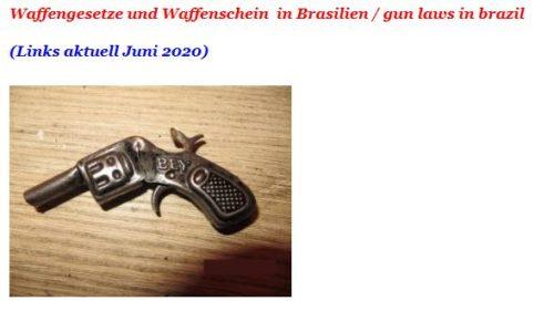 Waffenschein Brasilien